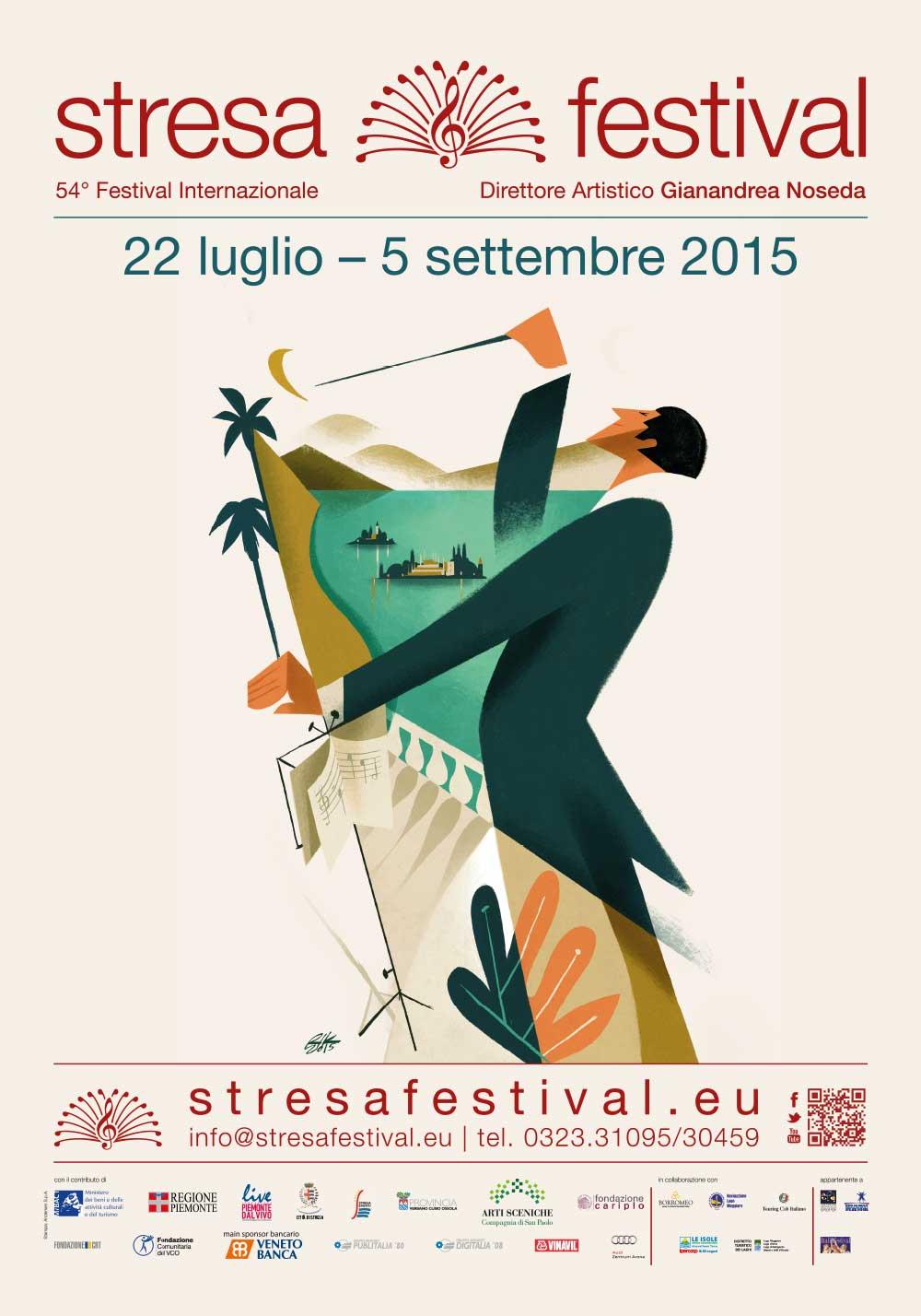 Stresa Festival locandina 2015